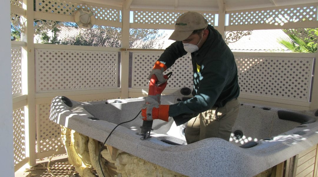 Green Guys Junk Removal provides hot tub removal in venice fl